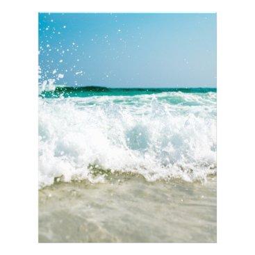 Beach Themed surf letterhead