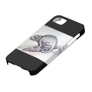 surf lizard tattoo art ocean sea wave style iPhone iPhone SE/5/5s Case