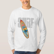 SURF LONG SLEEVE WHITE T-SHIRT
