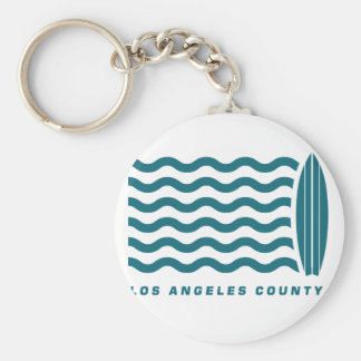 Surf Los Angeles County Key Chains