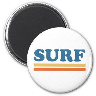surf fridge magnet