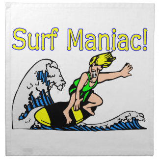 Surf Maniac Napkin