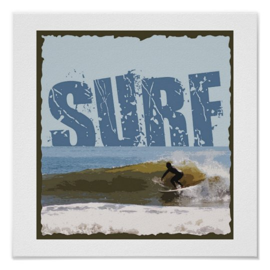 SURF miniPoster Poster