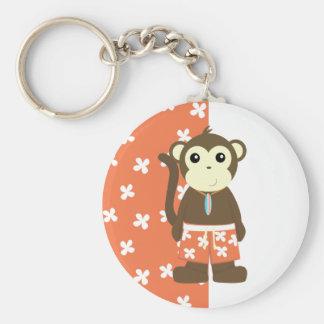 Surf Monkey Keychain