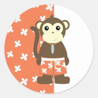 Surf Monkey Sticker