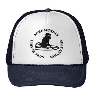 Surf Munkey logo on trucker hat