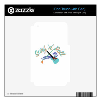 Surf N Roll iPod Touch 4G Skins