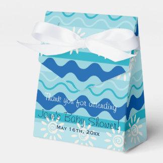 Surf 'N Sun Baby Shower Favor Box