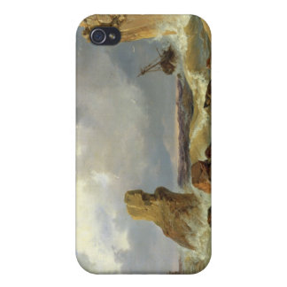 Surf on a Rocky Coast, 1835 Case For iPhone 4