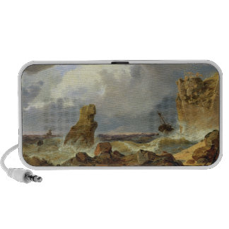 Surf on a Rocky Coast, 1835 Travelling Speaker