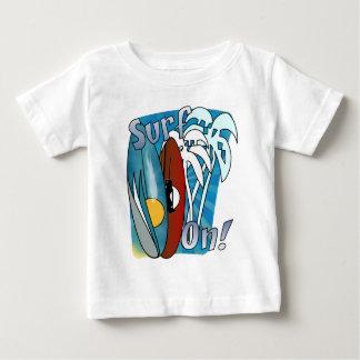 Surf On Infant T Shirt