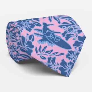 Surf Pareau Hawaiian Hibiscus Two-sidedPrinted Tie