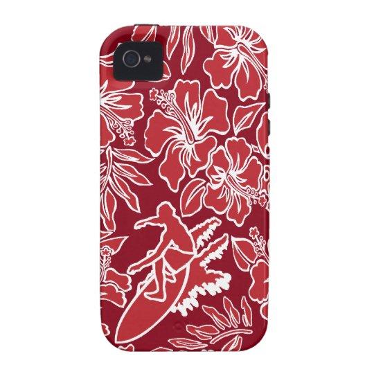 Surf Pareau Hawaiian Vibe iPhone 4 Case
