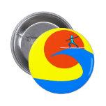 Surf Pinback Button