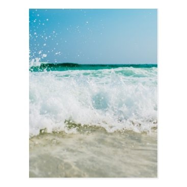 Beach Themed surf postcard