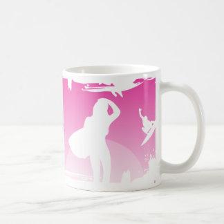 Surf Princess Coffee Mugs