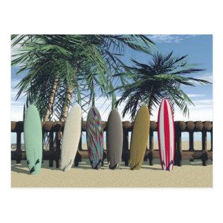 Surf Relaxing Postcard