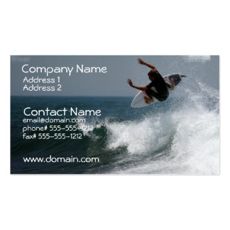 Surf Report Business Card