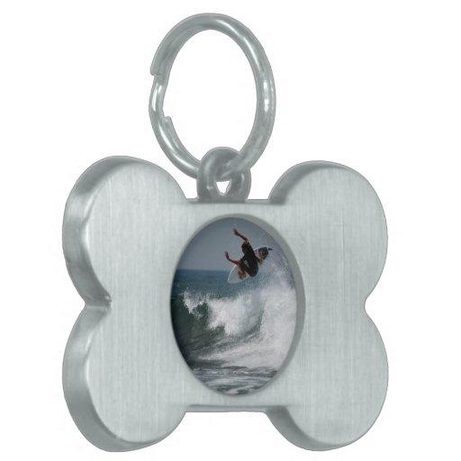 Surf Report Pet Tag