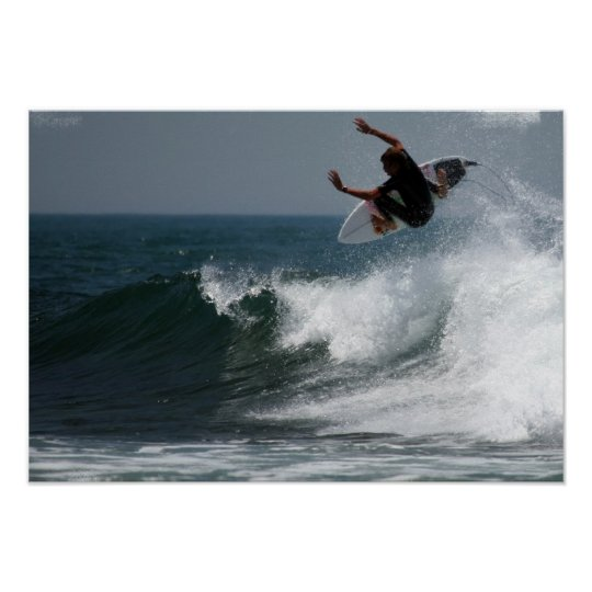 Surf Report Poster Print