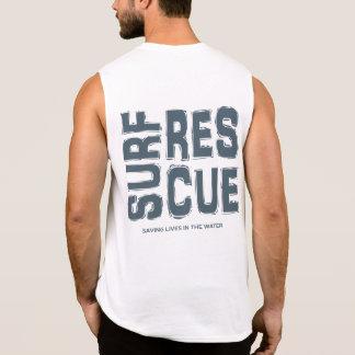SURF RESCUE 4 SLEEVELESS TEE