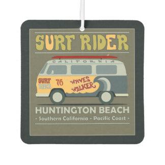 Surf Rider Huntington Beach Poster Air Freshener