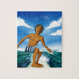 Surf Rider Jigsaw Puzzle