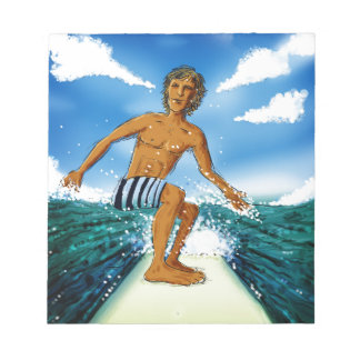 Surf Rider Notepad
