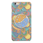 Surf Rider Pattern Glossy iPhone 6 Plus Case