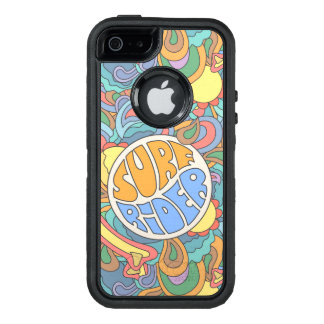 Surf Rider Pattern OtterBox Defender iPhone Case