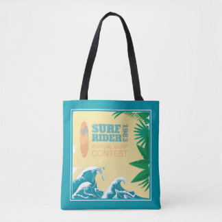 Surf Rider Surf Contest  1983 Tote Bag