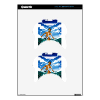 Surf Rider Xbox 360 Controller Decal