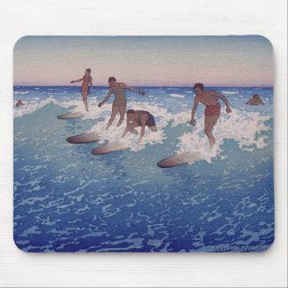 'Surf-Riders, Honolulu' - Mousepad