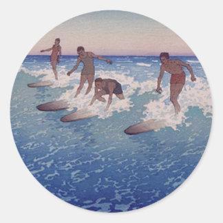 'Surf-Riders, Honolulu' - Sticker