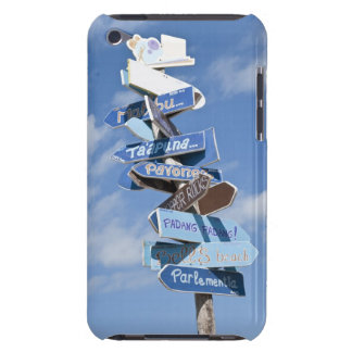 Surf roadsigns iPod touch cases