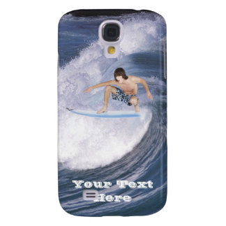 Surf's Up! Catch The Wave! 3G/3GS  Samsung Galaxy S4 Cover