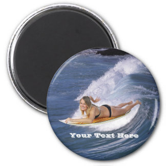 Surf's Up!  Catch The Wave! Magnet