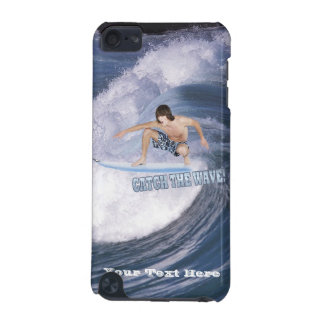 Surf's Up! Catch The Wave! Male Surfer iPod Case