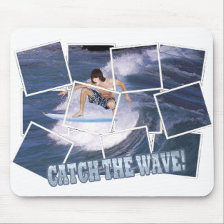 Surf's Up Catch The Wave Mouse Pad
