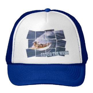 Surf's Up!  Catch The Wave! Trucker Hat
