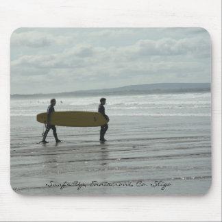 Surf s Up Enniscrone Co Sligo Mouse Pads