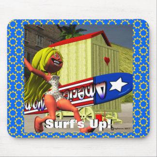 Surf s Up Mousepad