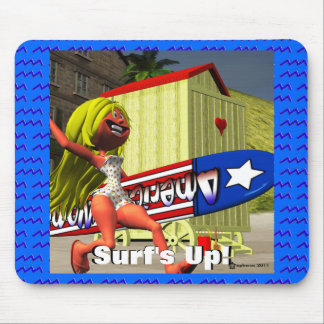 Surf s Up Mouse Pad