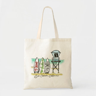 Surf San Clemente Small Tote Bag