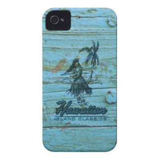 Surf Shack Hawaiian Faux Wood Case-Mate iPhone 4 Case