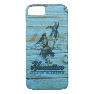 Surf Shack Hawaiian Faux Wood iPhone 7 Case