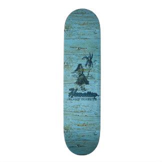 Surf Shack Hawaiian Faux Wood Skateboard Decks