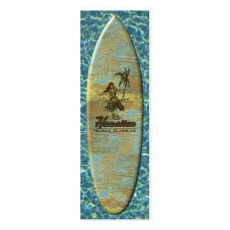 Surf Shack Surfboard Bookmark Business Card
