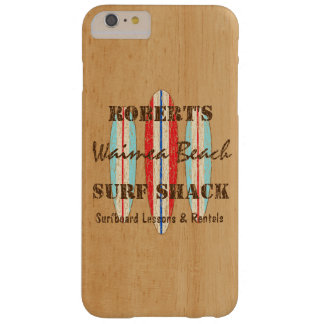 Surf Sign Customize Monogram Hawaiian Surfboards Barely There iPhone 6 Plus Case