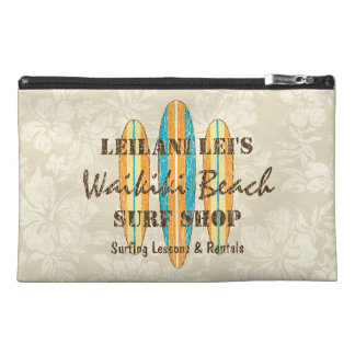 Surf Sign Customize Monogram Hawaiian Surfboards Travel Accessories Bag